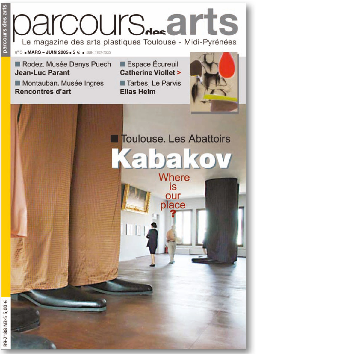 parcours des arts n 3 ditions in extenso. Black Bedroom Furniture Sets. Home Design Ideas