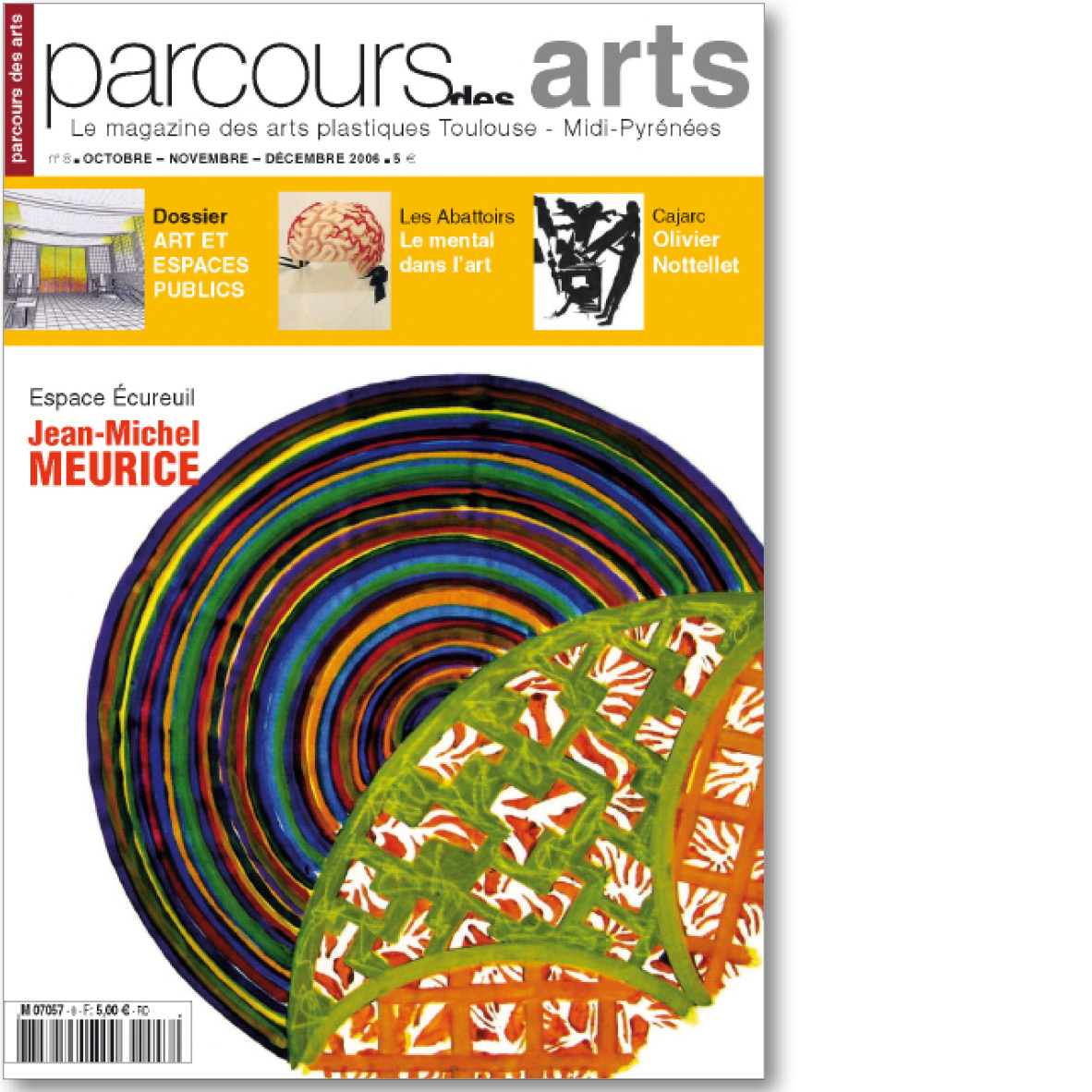 parcours des arts n 8 ditions in extenso. Black Bedroom Furniture Sets. Home Design Ideas
